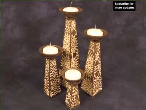 Clay Candle Holder Designs | Picture Collection Of Ceramic Art Model &  Decor Options