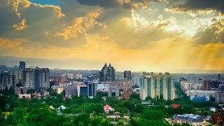 Алматы С Высоты Птичьего Полета. Almaty Aerial View  Almaty DJI PHANTOM 4K/ KAZAKHSTAN