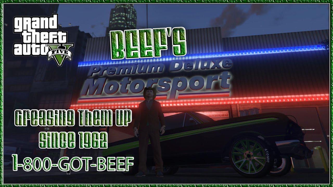 Gta v online beef 39 s premium deluxe motorsport gta5 car for Fenetre sale gta 5
