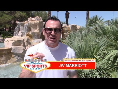 Steve Stevens - Sportsbook Review - JW Marriott (Las Vegas)