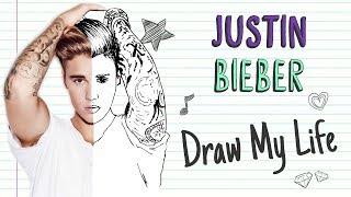 JUSTIN BIEBER | Draw My Life