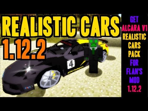 How To Add Realistic Cars Into Minecraft 1.12.2 - Download And Install Alcara_v1 Realistic Cars Pack
