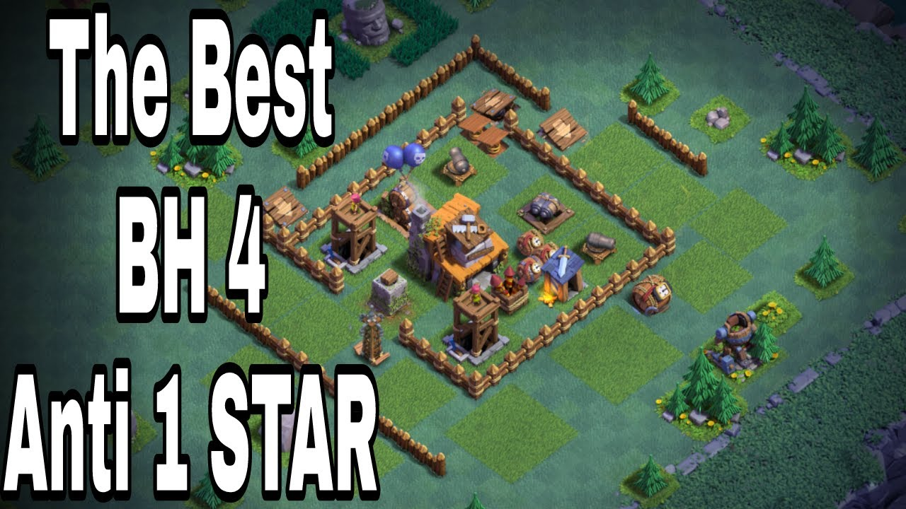 Base Coc Malam Th 4 Anti Bintang 11