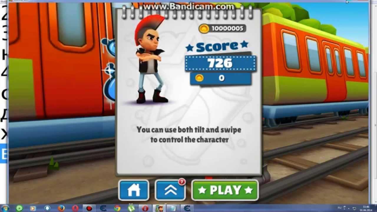 деньги на игру subway surf