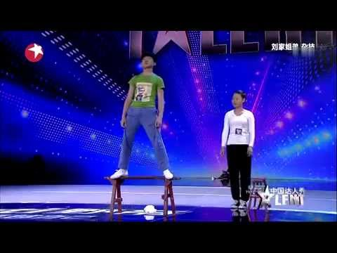 china got talent extremely Dangerous act