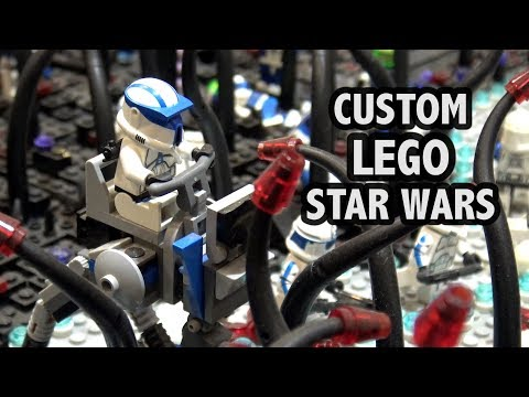 LEGO Star Wars Umbara and Yavin 4 Battles | Custom Star Wars