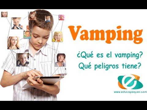 ¿Qué es el vamping? Peligros del vamping en nuestros hijos