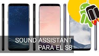 SoundAssistant, mejora el sonido del S8