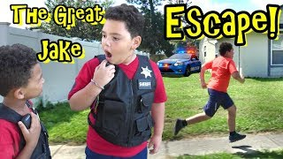 POLICE CHASE! THE GREAT JAKE ESCAPE!