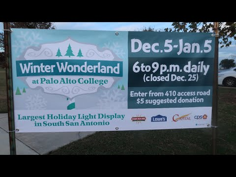 Winter Wonderland at Palo Alto College