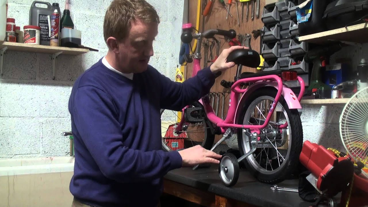 "How to assemble a Puky z6 16"" Pedal Bike"