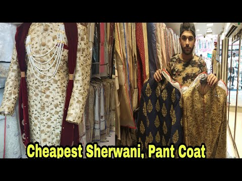 Best Sherwani and Wedding Wear For Mens | Designer Sherwani and Kurta |Chandani Chowk | Delhi |