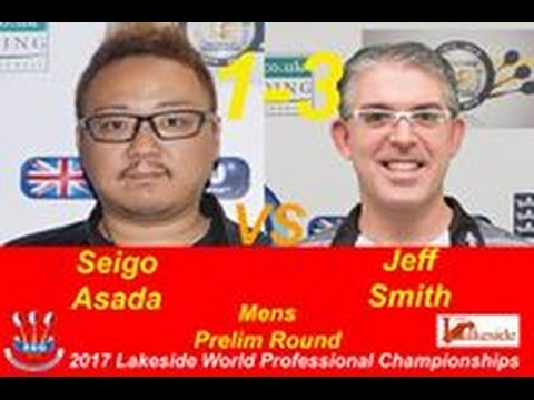 2017 BDO World Darts Championship Preliminary Round Asada vs J.Smith