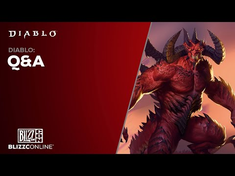 BlizzConline 2021 - Diablo Q&A