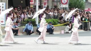 祇園祭・後祭「花傘巡行」平成28(2016)年7月24日 京都市