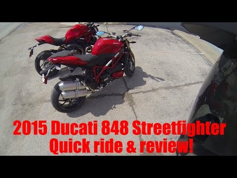 2015 Ducati Streetfighter 848 Quick Review Test Ride