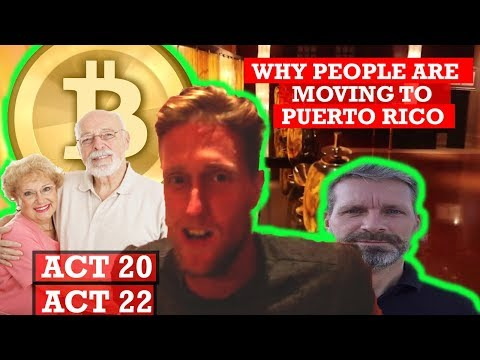WHY PEOPLE ARE MOVING TO PUERTO RICO IN 2018 (act 20 / act 22)