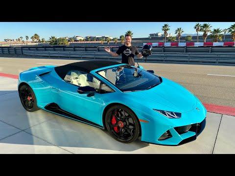 First TRACK DAY In My 2020 Lamborghini Huracan Evo!