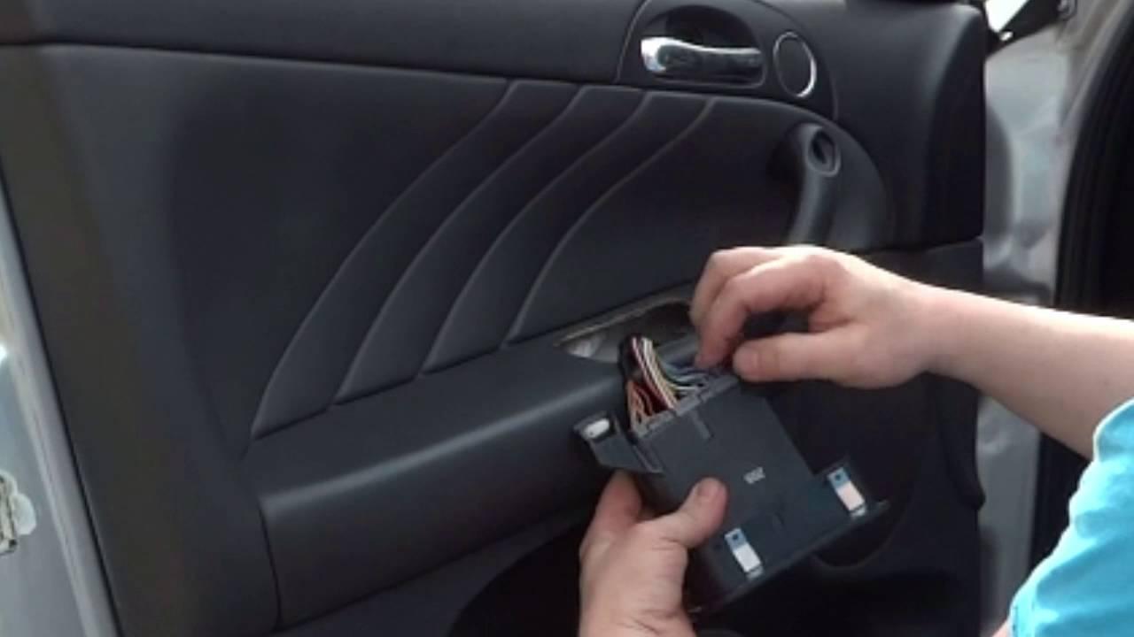 Alfa Romeo 147 Fahrert U00fcr T U00fcrverkleidung Ausbau