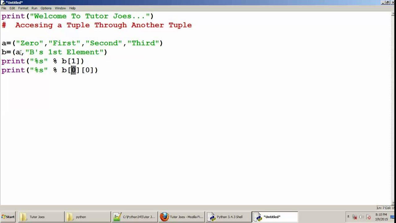 Tuple Python