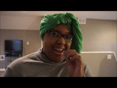 Leah V: How to Wrap a Pin Turban - YouTube