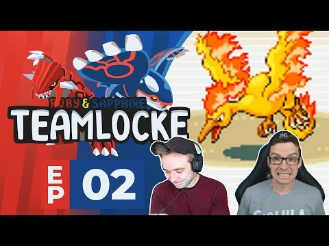 The Boys Arbok In Town! Pokemon Ruby and Sapphire Teamlocke! Episode 02