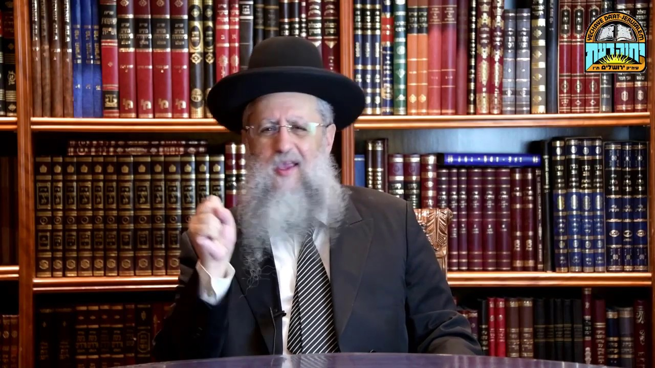 "Rabbi David Yossef - parashat Vaetchanan: ""Don't stop praying!"""