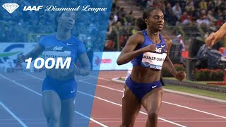Dina Asher-Smith powers to victory in the 100m final in Brussels - IAAF Diamond League 2019