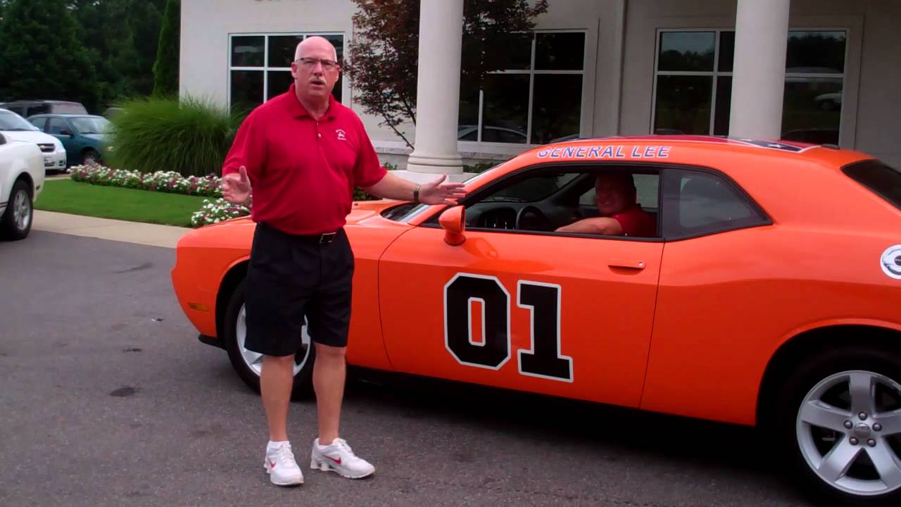 The general lee is here at matthews motors the 2012 dodge for Is dodge general motors
