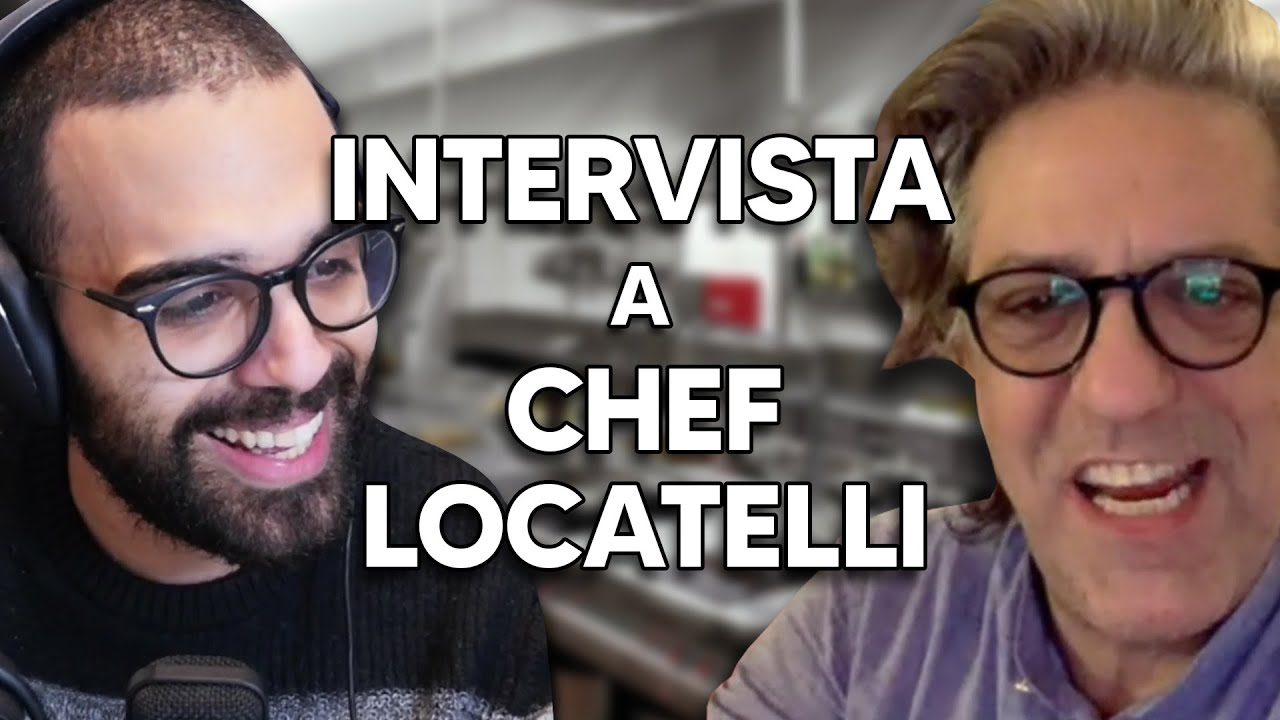 Dario Moccia intervista lo chef Giorgio Locatelli