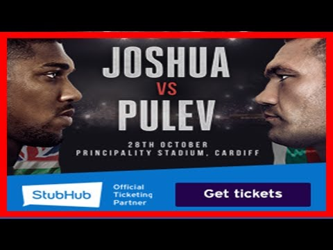 Breaking News | Joshua v takam: promoter eddie hearn reveals contingency plan to save cardiff show
