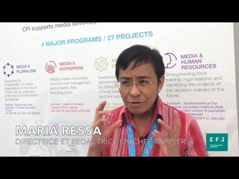 Interview Maria Ressa - RAPPLER #4MPARIS