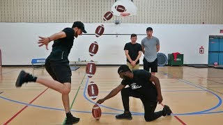 IMPOSSIBLE FOOTBALL TRICK SHOTS