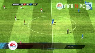 FIFA 11 PC-Gameplay Video Arsenal - Chelsea