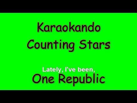 Karaoke Internazionale - Counting Stars - One Republic ( Lyrics )