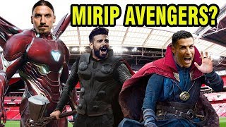 Download Video 10 Pemain Sepakbola Mirip Karakter Film The Avengers: Endgame MP3 3GP MP4