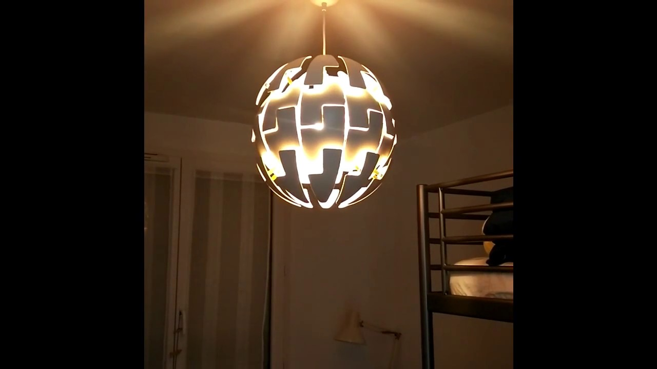 Ikea Ps 2014 Lampe : ikea ps 2014 remote controlled lustre lampe ik a t l command youtube ~ Watch28wear.com Haus und Dekorationen