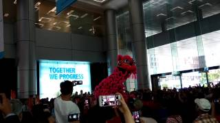Lion Dance - Redmi Note 4 Low Light Recording and Full HD