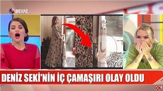 Deniz Seki'nin iç çamaşır skandalı / Serenay Sarıkaya'dan olay paylaşım/ Fuhuşa düşen kızdan feryad