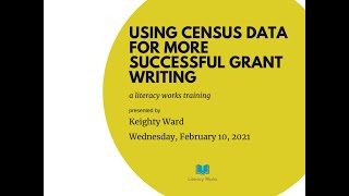Using Census Data for More Successful Grant Writing