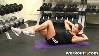 Workoutz.com - Abs Exercise - Bicycle Crunches