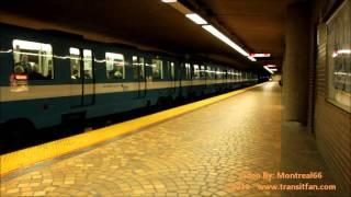 Montreal Metro: Station Pie-ix [hd]