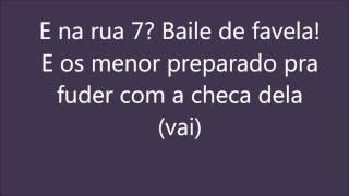 baile de favela letra