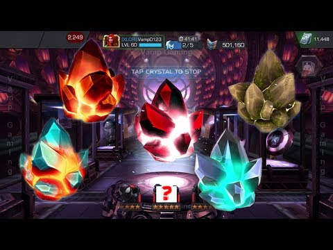 MARVEL CONTEST OF CHAMPIONS: BIG Crystals Opening - Yes! Got HIM!