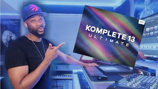 THE NEW KOMPLETE 13 REVIEW & DEMO!! TOP INSTRUMENTS FOUND IN NATIVE INSTRUMENTS KOMPLETE ULTIMATE!!