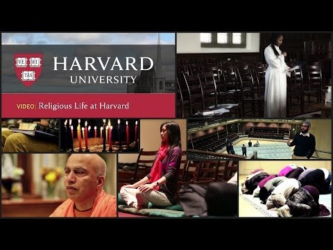 Religious life at Harvard