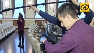 Гродненские студенты снимают сериал об университетских буднях