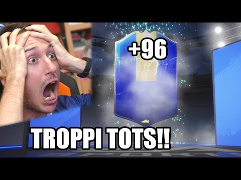8 TOTS  (+96) IN 4 MINUTI RECORD!! - PACK OPENING SERIE A TOTS