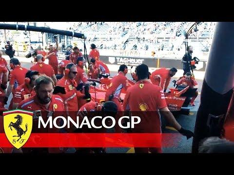 Monaco Grand Prix - Behind the start