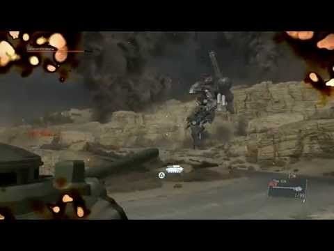 Metal Gear Solid 5 The Phantom Pain Sahelanthropus Boss Fight